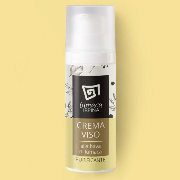 crema viso purificante lumaca irpina