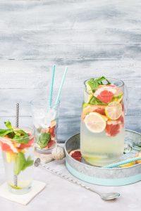 acqua aromatica preparazione
